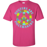 Quilters are Piecemakers Custom Ultra Cotton T-Shirt - Crafter4Life - 7