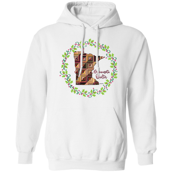 Minnesota Quilter Christmas Pullover Hoodie