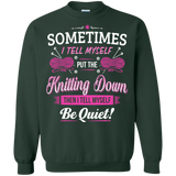 Put the Knitting Down Crewneck Sweatshirts - Crafter4Life - 5