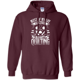Most of My Life (Quilting) Pullover Hoodies - Crafter4Life - 9