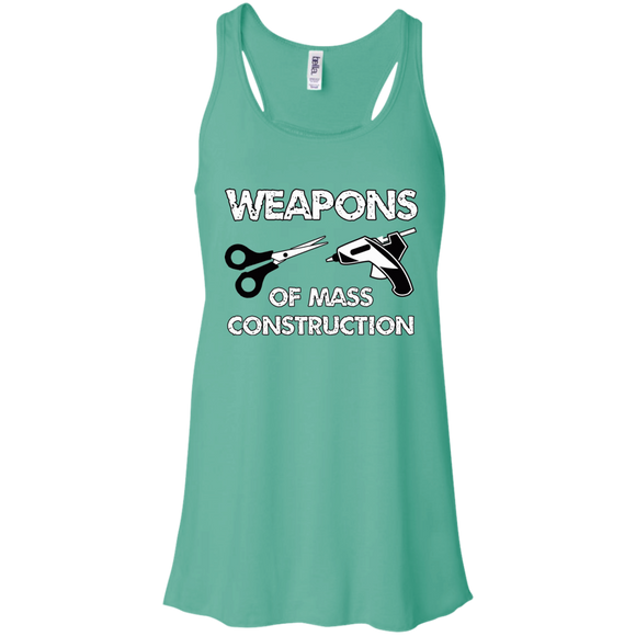 Weapons of Mass Construction Flowy Racerback Tank