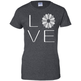 LOVE Quilting Ladies Custom 100% Cotton T-Shirt - Crafter4Life - 5