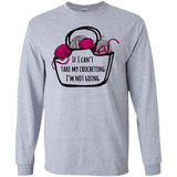 If I Can't Take My Crocheting LS Ultra Cotton T-Shirt