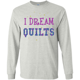 I Dream Quilts Long Sleeve Ultra Cotton T-Shirt - Crafter4Life - 3