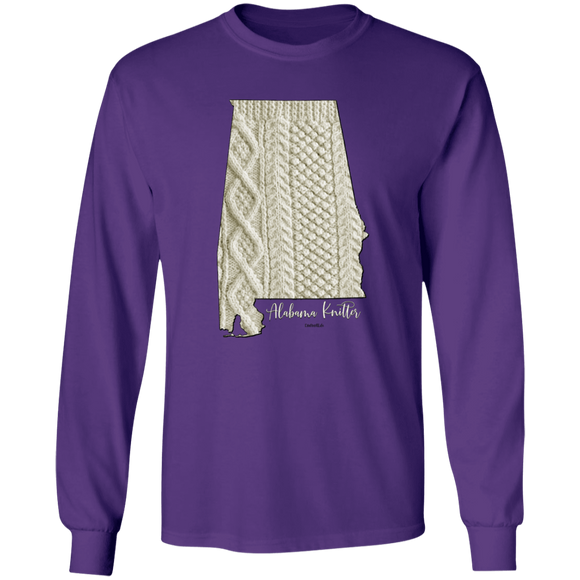 Alabama Knitter LS Ultra Cotton T-Shirt