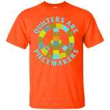 Quilters are Piecemakers Custom Ultra Cotton T-Shirt - Crafter4Life - 4