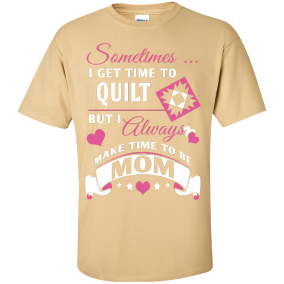Time-Quilt-Mom Custom Ultra Cotton T-Shirt - Crafter4Life - 1