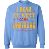 I Bead So I Won't Come Unstrung (gold) Crewneck Sweatshirts - Crafter4Life - 9