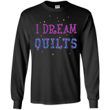 I Dream Quilts Long Sleeve Ultra Cotton T-Shirt - Crafter4Life - 4