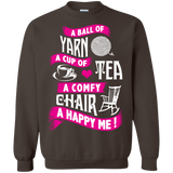 A Ball of Yarn, A Happy Me Crewneck Sweatshirts - Crafter4Life - 7