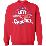 Time to Crochet Crewneck Sweatshirts - Crafter4Life - 5