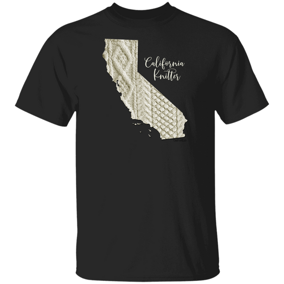 California Knitter Cotton T-Shirt