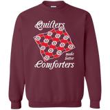 Quilters Make Better Comforters Crewneck Sweatshirts - Crafter4Life - 2