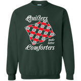 Quilters Make Better Comforters Crewneck Sweatshirts - Crafter4Life - 5