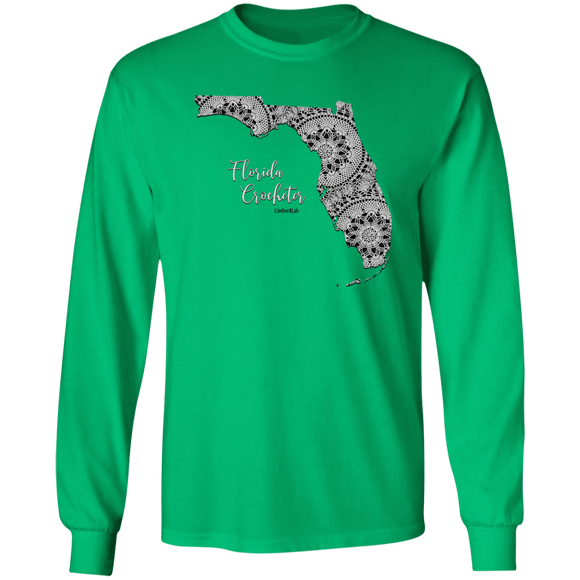 Florida Crocheter LS Ultra Cotton T-Shirt