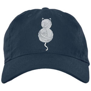 Yarn Kitty Twill Unstructured Dad Cap