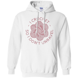I Crochet So I Don't Unravel Pullover Hoodie