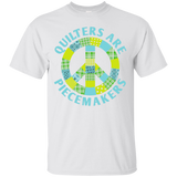 Quilters are Piecemakers Custom Ultra Cotton T-Shirt - Crafter4Life - 2