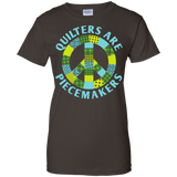 Quilters are Piecemakers Ladies Custom 100% Cotton T-Shirt - Crafter4Life - 5