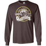 Time for Quilting Long Sleeve Ultra Cotton T-Shirt - Crafter4Life - 5