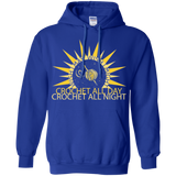 Wish I May Crochet Pullover Hoodie