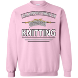 I Am Happiest When I'm Knitting Crewneck Sweatshirts - Crafter4Life - 11