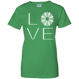 LOVE Quilting Ladies Custom 100% Cotton T-Shirt - Crafter4Life - 10