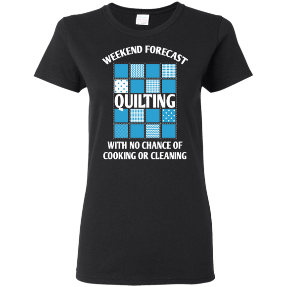 Weekend Forecast: Quilting Ladies T-Shirt