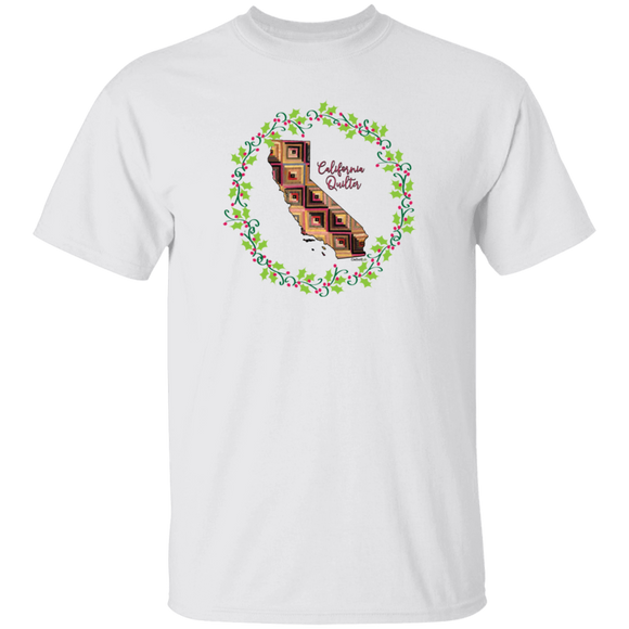 California Quilter Christmas T-Shirt
