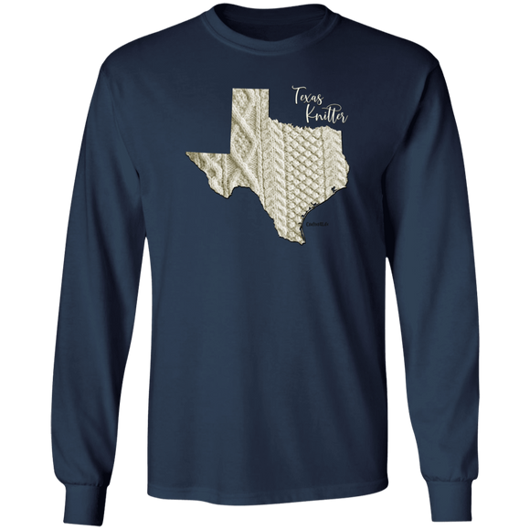 Texas Knitter LS Ultra Cotton T-Shirt