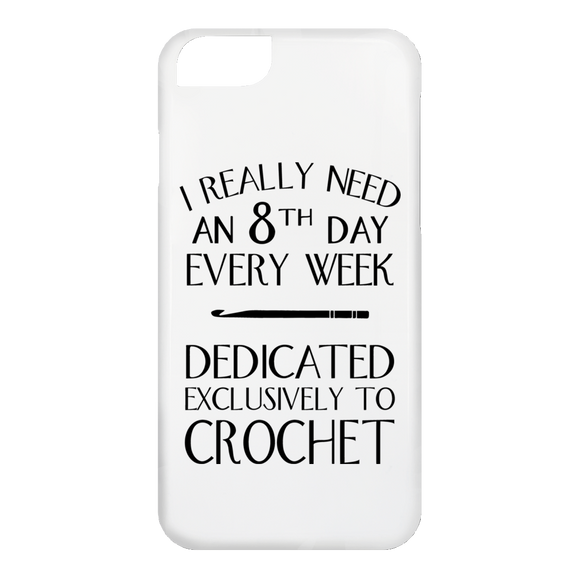 8th Day Crochet iPhone Cases