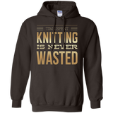Time Spent Knitting Pullover Hoodies - Crafter4Life - 5