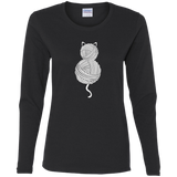 Yarn Kitty Ladies Long Sleeve Shirts