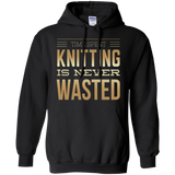 Time Spent Knitting Pullover Hoodies - Crafter4Life - 2
