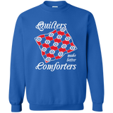 Quilters Make Better Comforters Crewneck Sweatshirts - Crafter4Life - 6