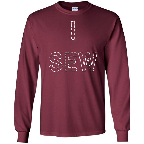 I Sew LS Ultra Cotton T-Shirt