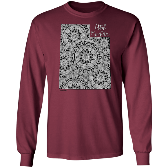 Utah Crocheter LS Ultra Cotton T-Shirt