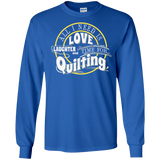Time for Quilting Long Sleeve Ultra Cotton T-Shirt - Crafter4Life - 1