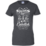 Scrapbookers Don't Lie Ladies Custom 100% Cotton T-Shirt - Crafter4Life - 5