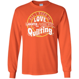 Time for Quilting Long Sleeve Ultra Cotton T-Shirt - Crafter4Life - 3