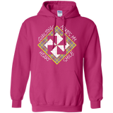 Quilting Makes My Heart Smile Pullover Hoodie