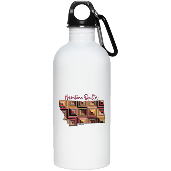 Montana Quilter Stainless Steel Water Bottle