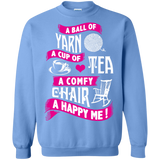 A Ball of Yarn, A Happy Me Crewneck Sweatshirts - Crafter4Life - 12