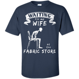 Waiting at the Fabric Store Men's and Unisex T-Shirts - Crafter4Life - 7