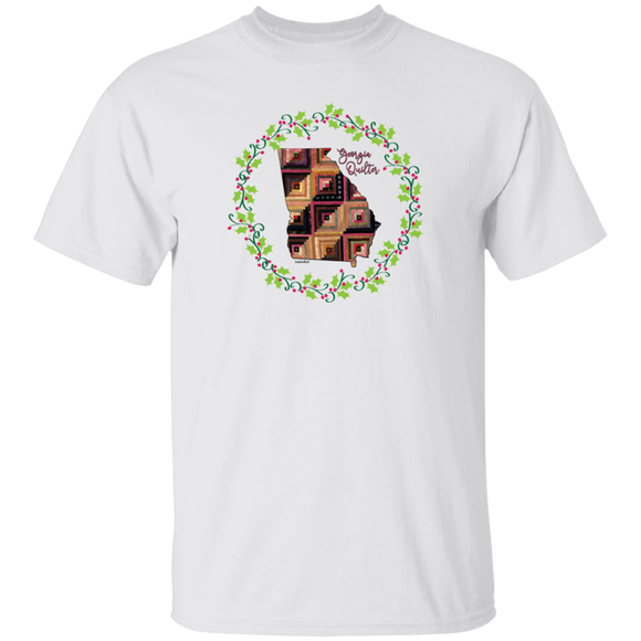 Georgia Quilter Christmas T-Shirt