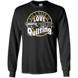 Time for Quilting Long Sleeve Ultra Cotton T-Shirt - Crafter4Life - 2