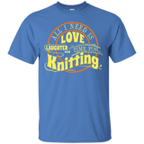 Time for Knitting (yellow) Custom Ultra Cotton T-Shirt - Crafter4Life - 4