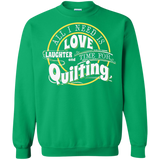 Time for Quilting Crewneck Sweatshirts - Crafter4Life - 9