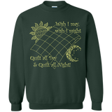 Wish I May Quilt Crewneck Sweatshirts - Crafter4Life - 5