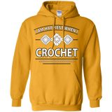 I Am Happiest When I Crochet Pullover Hoodies - Crafter4Life - 11